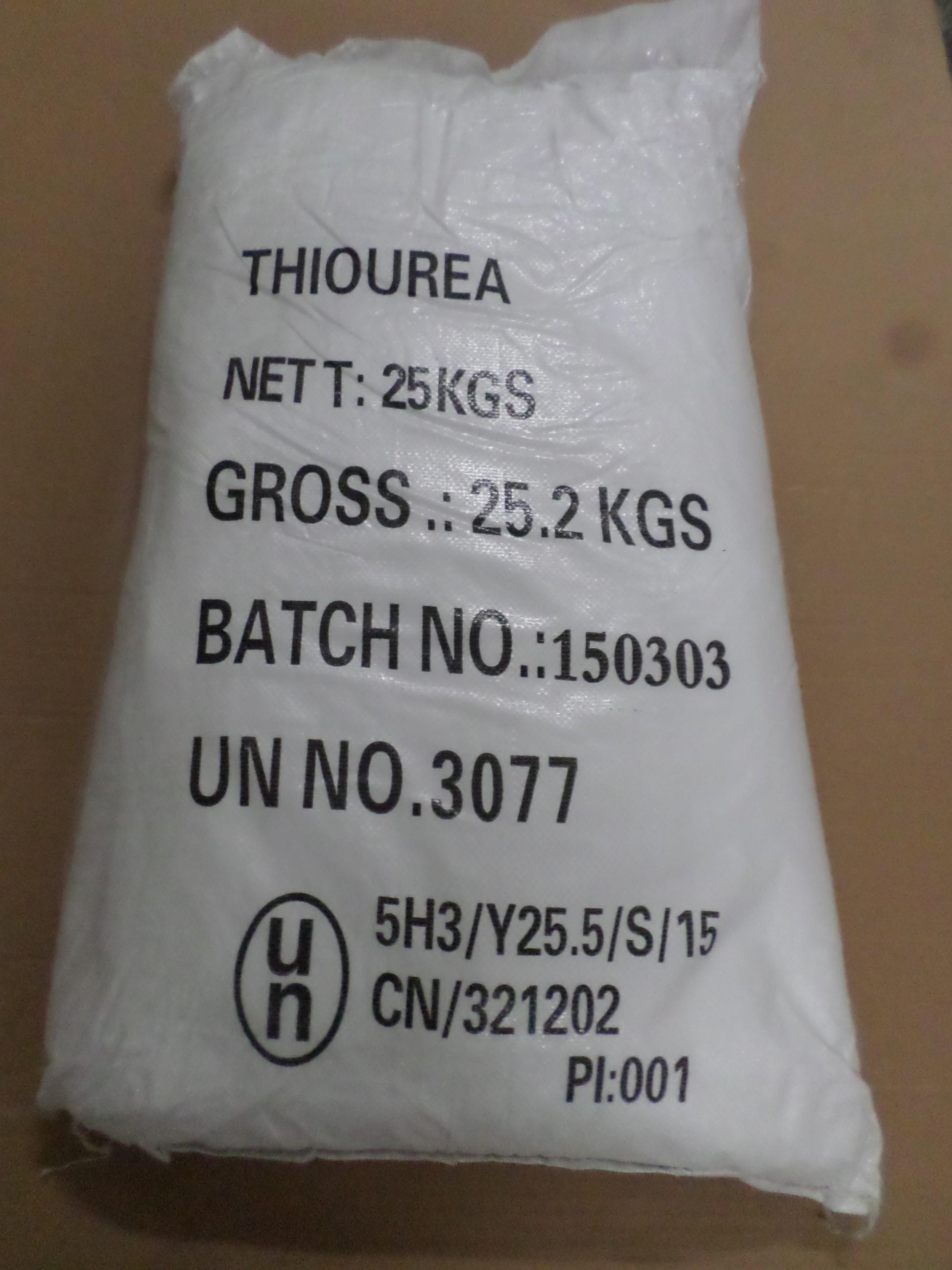 Thiourea - Thioharnstoff
